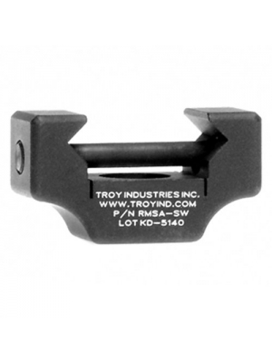 Troy Industries Q.D. 360 Push Button Rail Mount without Swivel