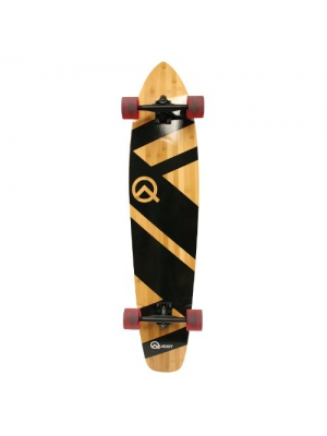 "Quest Skateboards Best 44"" Bamboo Super Cruiser Longboard Skateboard"
