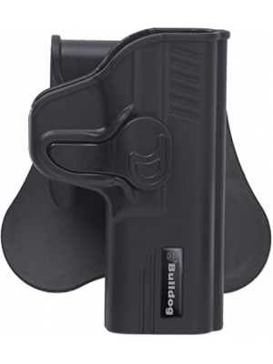 Bulldog Cases Rapid Release Polymer Holster, Black