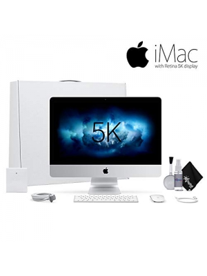 Apple iMac 27 Inch 3.4 GHz Core i5, 8GB RAM, 1TB Fusion Drive MNE92LL/A. Standard Bundle
