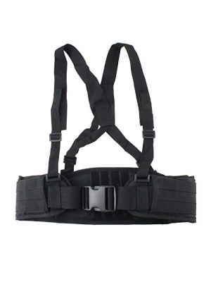 VC-Time Tactical Belt , Strap Tactical Waist Belt , Adjustable Security Tactical Belt For Hunting Equipment and Outdoor Activity
