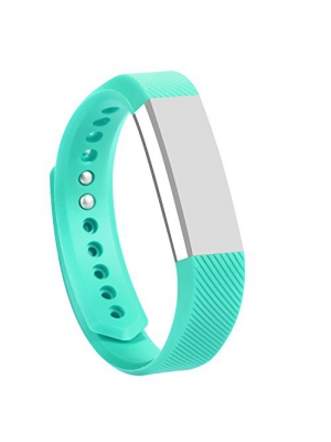 I-SMILE Classic Silicone Colorful Replacement Bands with Secure Silicone Fasteners and Metal Clasps for Fitbit Alta(No tracker, Replacement Bands Only)