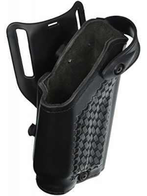 Safariland 6280 Level II SLS Retention Duty Holster, Mid-Ride, Black, Basketweave, Glock 17, 22 with M6 Light