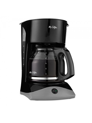 Mr. Coffee 12-Cup Manual Coffeemaker, Black, SK13