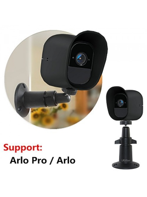 iAbler for Netgear Outdoor Security Mount in Black - Designed for Arlo Pro and Arlo Wire-Free Cameras Security Wall Mount