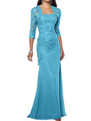 ThaliaDress Women Mother of Bride Dress Evening Prom Gown With Jacket T263LF
