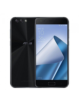 ASUS ZenFone 4 (ZE554KL) 4GB/64GB 5.5-inches Dual SIM Factory Unlocked - International Stock No Warranty (Midnight Black)