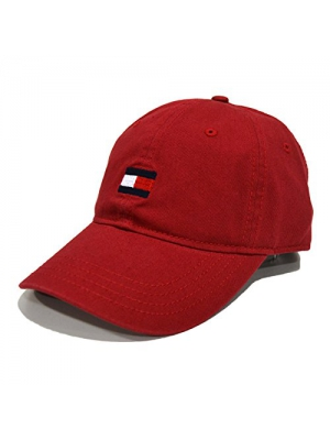 Mens Tommy Hilfiger Flag Logo Cotton Twill Baseball Cap