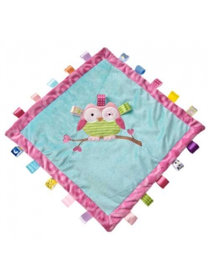 Mary Meyer Taggies Oodles Owl Cozy Blanket