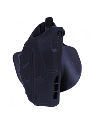 Safariland 7378 7TS ALS Paddle & Belt Slide Concealment Glock 17 22 Holster