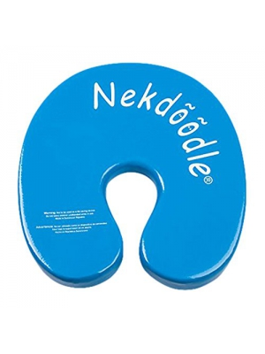 Nekdoodle - Permanently Buoyant Swimming Pool Float for Aquatic & Water Training, Exercises and Fun & Recreation - Fits Kids and Adults - Blue