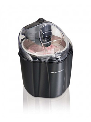 Hamilton Beach 68321Z 1.5 Quart Gel Yougurt, Sherbet, Gelato, & Ice Cream Maker
