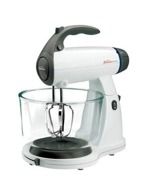 12-Speed Powerful, Non-Skid Rubber Feet, Stand Mixer, White