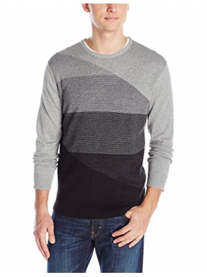 Calvin Klein Men's Cotton Modal End On End Sweater
