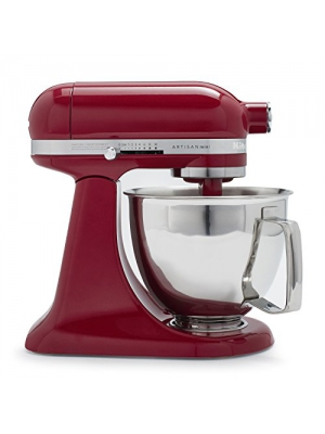 KitchenAid Artisan Mini Premium Tilt-Head Stand Mixer with Flex Edge Beater KSM3316XER , 3.5 qt., Empire Red