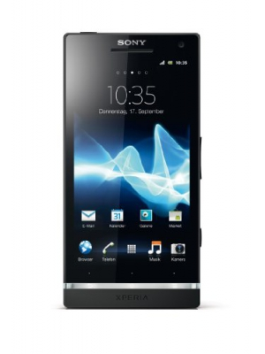 Sony LT26I-BK Xperia S NXT Series Unlocked GSM Android Smartphone with 12 MP Camera, Dual-core Processor, HD video and PlayStation - No Warranty - Black