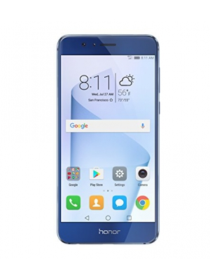 Huawei Honor 8 Unlocked Smartphone 32 GB Dual Camera - US Warranty (Sapphire Blue)