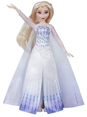 Disney Frozen Musical Adventure Elsa Singing Doll, Sings Show Yourself Song from 2 Movie, Elsa Toy for Kids