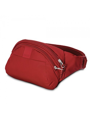 Pacsafe Metrosafe LS120 Anti-Theft Hip Pack, Vintage Red