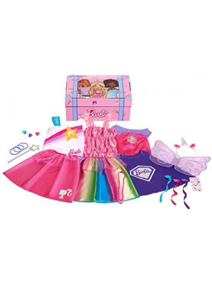 Barbie 21-Piece Dress Up Trunk Mailer (Amazon Exclusive)