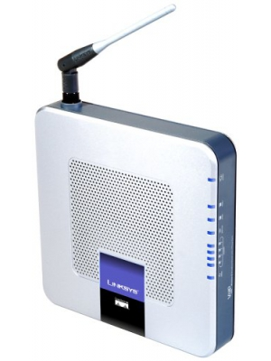 Linksys by Cisco WRTP54G Wireless-G Broadband Router for Vonage Internet Phone Service