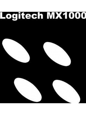 Mouse Skatez/Mouse Feet for Logitech Logitech MX1000/MX5000/MX610/MX620/MX600( 3 sets of replacement mice feet)