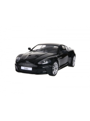 RASTAR 42500 1:14 4 Channel Remote Control Aston Martin DBS Coupe RC Car with Light (Black) + Worldwideing