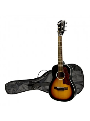 "Maestro by Gibson 30"" Mini Acoustic Guitar with Gig Bag, Vintage Sunburst"