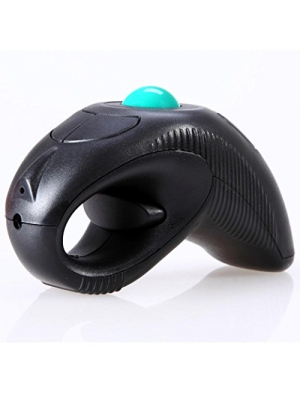 ONEMORES(TM) 2.4GHz USB handheld wireless mouse pointer using optical trace ball laser beam