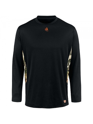 Legendary Whitetails Mens HuntGuard Nanotec Base Layer Long Sleeve T-Shirt