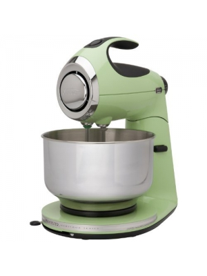 Iconic Stand Mixer Made of Durable Die-cast Metal Construction. This 12 Speed Mixmaster Is What Every Kitchen Needs