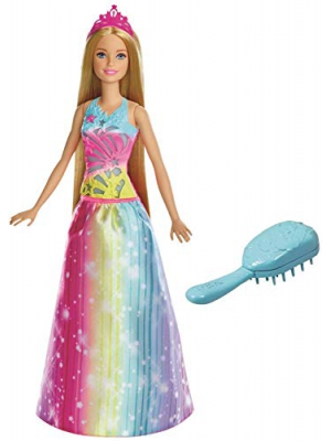 Barbie Dreamtopia Rainbow Cove Brush 'n Sparkle Princess, Blonde