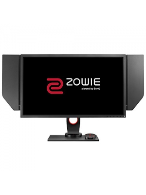 "BenQ ZOWIE 27"" QHD 144Hz Quad HD Gaming eSports Monitor with DyAc Technology, Black eQualizer, Height Adjustable Stand, S-Switch, Color Vibrance (XL2735)"