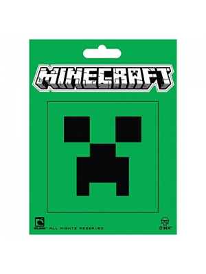 JINX Minecraft Creeper Face Sticker