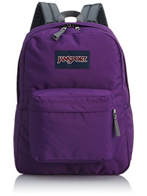 JanSport T501 Superbreak Backpack - Winter Collection (Vivid Purple)
