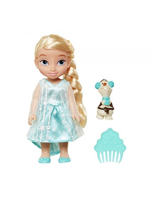 Disney Princess Frozen Petite Elsa Doll with Olaf Figure 6 Inches