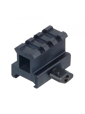 "UTG Hi-Profile Compact Riser Mount, 1"" High, 3 Slots"
