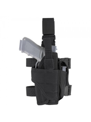 Drop Leg Holster Gear,Tactical Army Pistol Thigh Gun Holster, Magazine Pouches,Adjustable Right Hand for Man and Woman