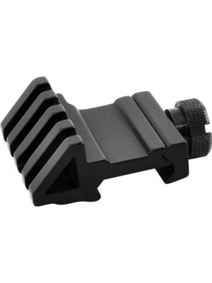 LVLING 45 Degree Offset Rail Mount with Picatinny/Weaver Style Rail