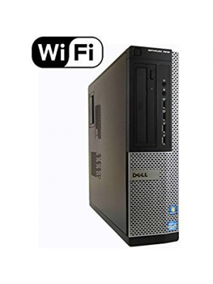 Dell Optiplex 7010 Business Desktop Computer PC (Intel Quad Ci5-3470, 8GB RAM, 256GB SSD + 2TB HDD, HDMI, Wireless WIFI, DVD-RW, USB 3.0) Win 10 Professional (Certified Refurbished) 1GB Graphics