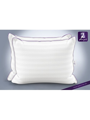 Queen Anne Heavenly Down Hypoallergenic Luxury Pillow (Set of 2) – Synthetic Down Alternative for Allergy Free Sleeping – Hotel Collection – USA Made (Queen Size, Medium Fill)