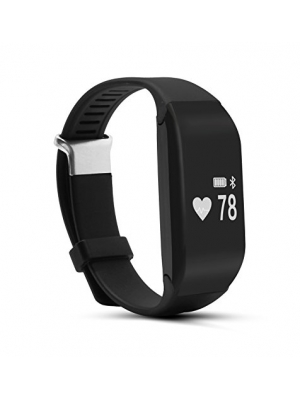 Guide Tracker with Heart Rate Monitor, Guide H3 Wireless Bluetooth Waterproof Touch Screen Smart Watch Healthy Wristband