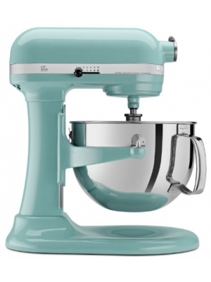 KitchenAid kp26m1xaq5 Professional Series 6-Quart Stand Mixer (Aqua Sky Blue)