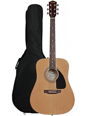 Fender FA-100 Dreadnought Acoustic Guitar with Gig Bag - Natural