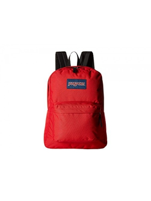 Jansport Superbreak Backpack, Black (T936) (Red)