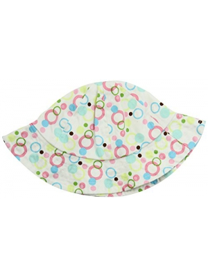 Trend Lab Beach Hat, Cupcake Bubbles, 2T