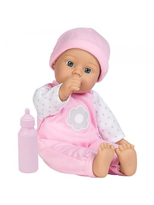 "Adora Sweet Baby Girl ""Blossom"", Doll Washable Soft Body Vinyl Play Toy Gift 11-inch"