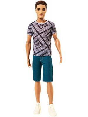 Barbie Fashionistas Ryan Doll, Jean Shorts and Shirt