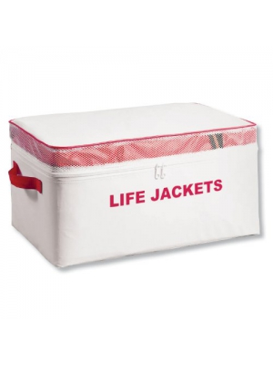 Kwik Tek PFD-4 Life Jacket Storage Bag (Holds 4 Adult Type II Life Jackets)