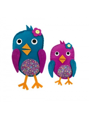 American Girl Crafts Sew and Stuff Kit, Birdies